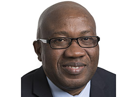 EDCTP staff - portrait of Professor Moses John Bockarie, Director of South-South Cooperation